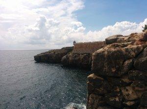 Vista lateral da Fortaleza de Peniche
