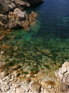 Baleal: Praia rochosa